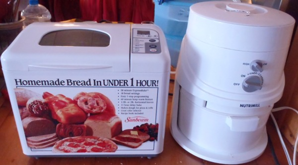 My bread machine is dead, long live my bread machine.