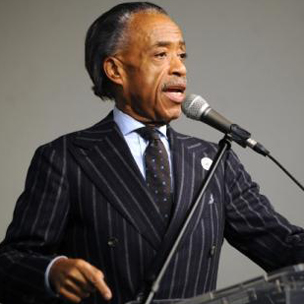 I have to admit, the dude rocks a pinstripe suit.