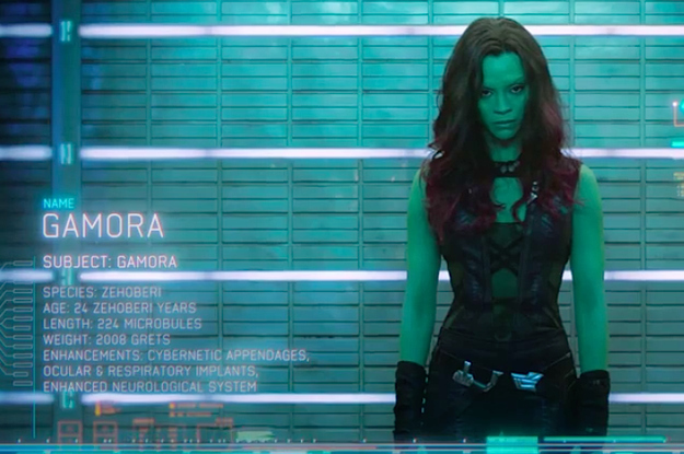 Gamora was totally hot and uh... what was I thinking?