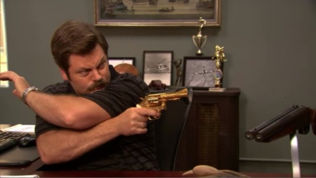 The right choice for Ron Swanson.