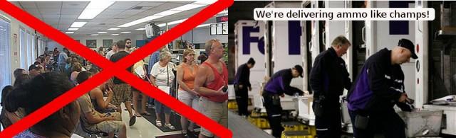 DMV versus FedEx