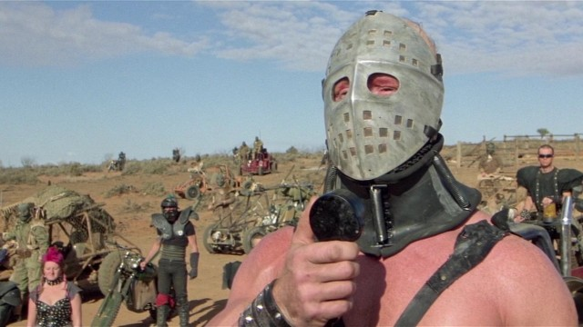 The Humungus: There has been too much violence. Too much pain. But I have an honorable compromise. Just walk away. Give me your pump, the oil, the gasoline, and the whole compound, and I'll spare your lives. Just walk away and we'll give you a safe passageway in the wastelands. Just walk away and there will be an end to the horror.
