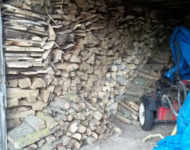 Just a pile of wood... meh.